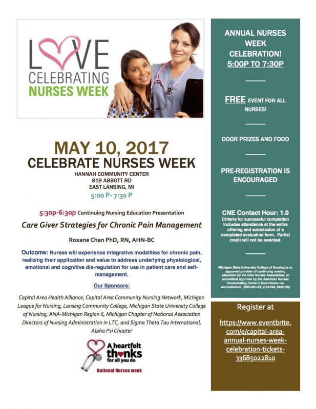 Free Food For Nurses Week